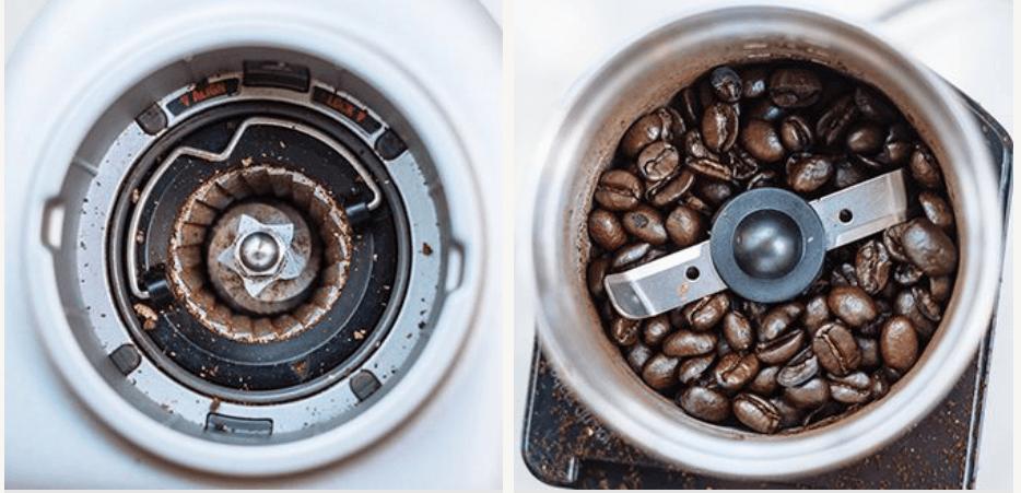 Machines à moudre le café à lames