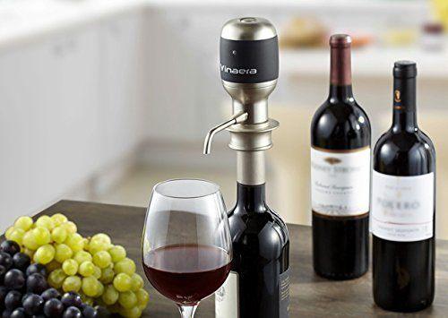 décanteur aérateur de vin instantané