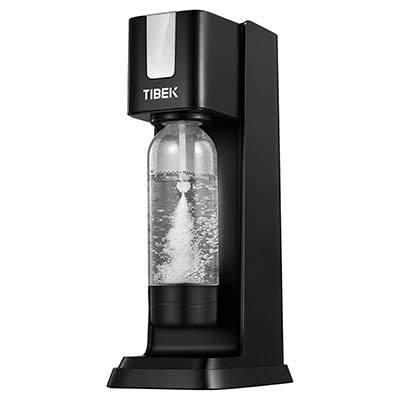 TIBEK Machine à Soda et Eau Pétillante avec Bouteille