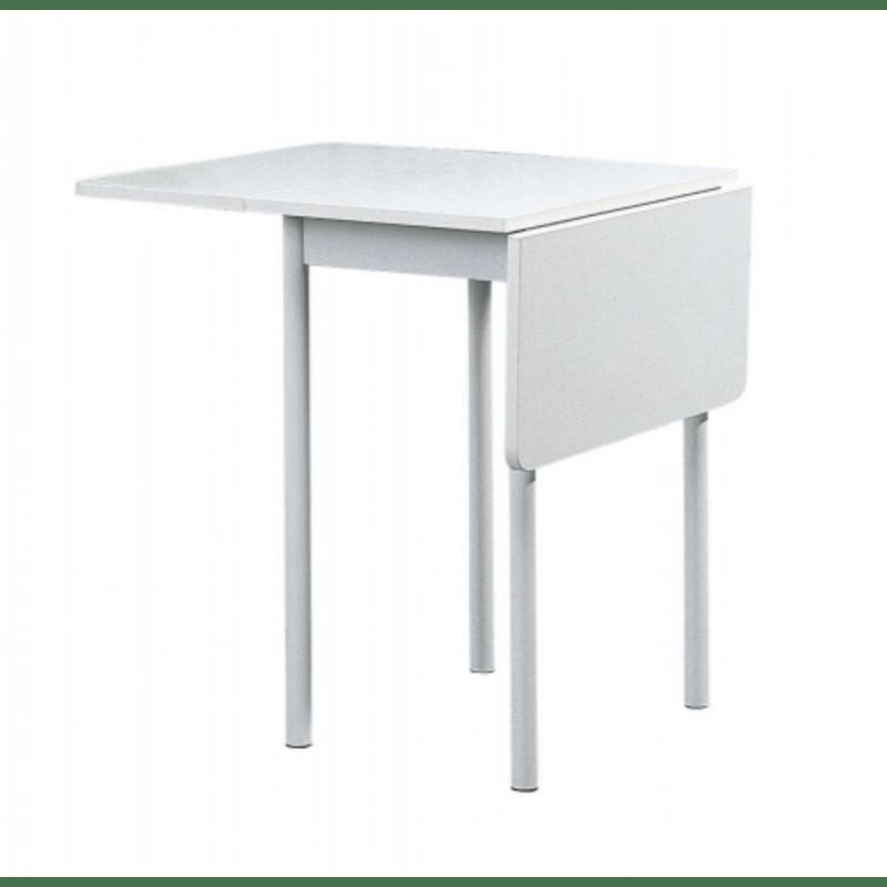aménagement petite cuisine avec table rabattable